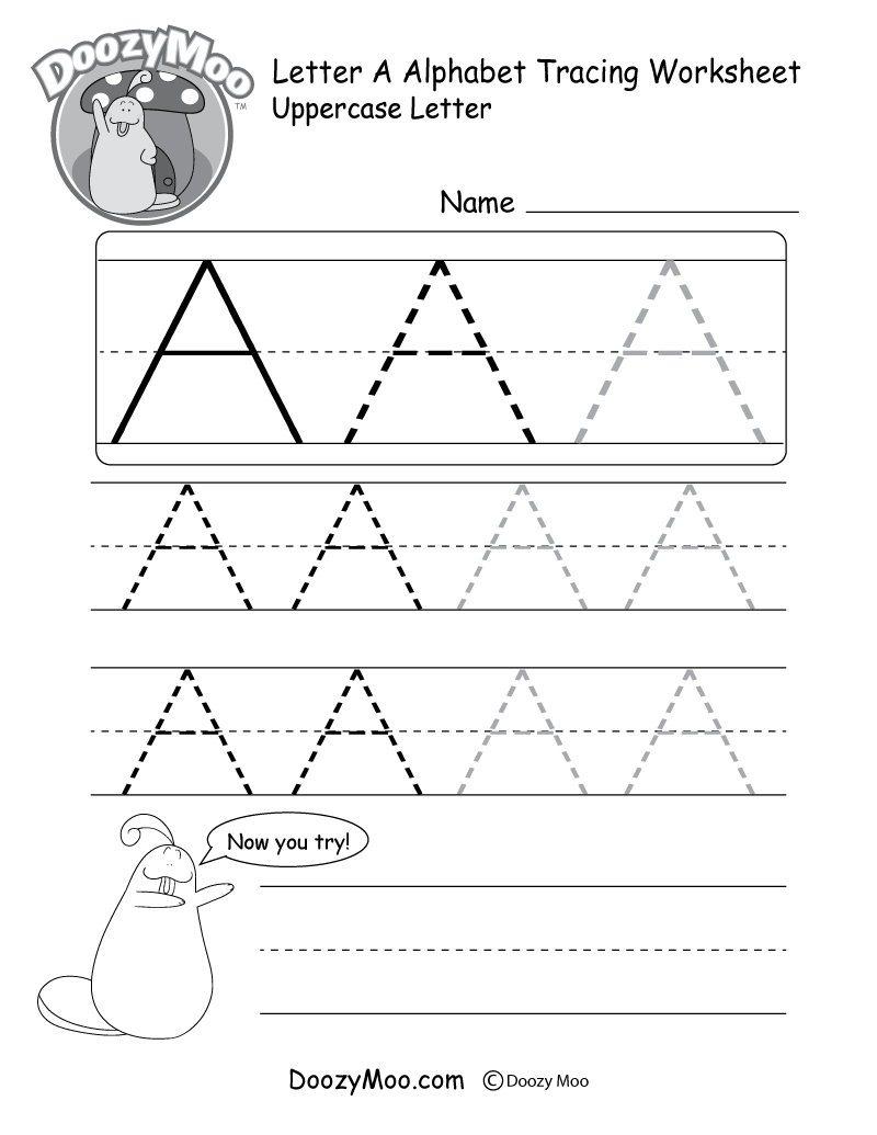Kids Worksheets Free Printable Cursive Ting Pdf Learning To in Tracing Letters Of Your Name