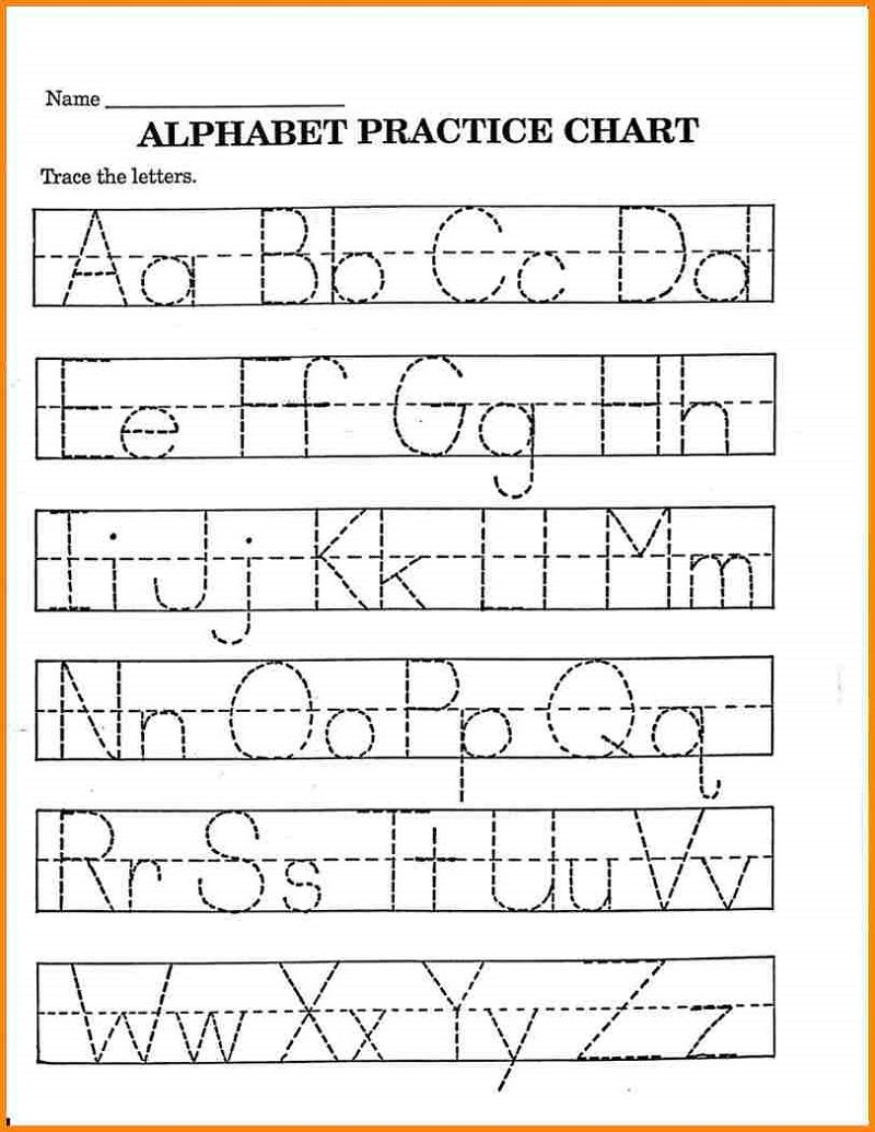 Kids Worksheets Pre K Math Alphabet E2 80 93 Learning throughout Letter Tracing Worksheets Pre K
