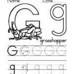 Kidzone Letter Worksheets Trace G Activity Shelter S W inside Kidzone Tracing Letters