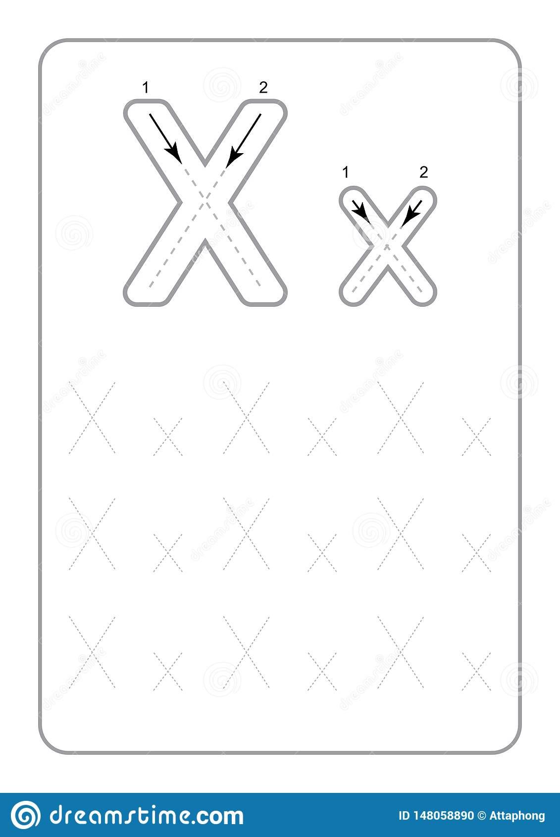 Kindergarten Tracing Letters Worksheets Monochrome Tracing in Tracing Letters Worksheets For Kindergarten