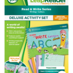 Leapfrog Leapreader Deluxe Writing Workbook Learn To Write in Leapfrog Tracing Letters
