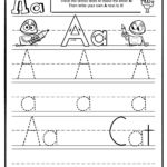 Letter A Tracing Sheet - Abc Activity Sheets - Storybots with Tracing Letters Activity Sheets