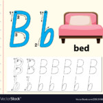Letter B Tracing Alphabet Worksheets intended for Tracing Letters Pdf Free