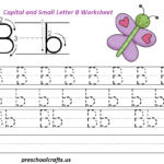 Letter B Worksheets - Preschool And Kindergarten | Letter B pertaining to Trace Letter B Worksheets Preschool