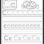 Letter C Tracing Sheet Letter C Worksheet Preschool Letter B within Trace Letter C Worksheets Preschool