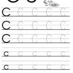 Letter C Tracing Worksheet For Esl Teachers | Letter Tracing pertaining to C Letter Tracing Worksheet