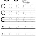 Letter C Tracing Worksheet For Esl Teachers | Letter Tracing pertaining to Trace Letter C Worksheets Preschool