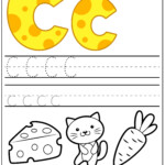 Letter C Worksheets | Teachersmag in Tracing Letter C Worksheets