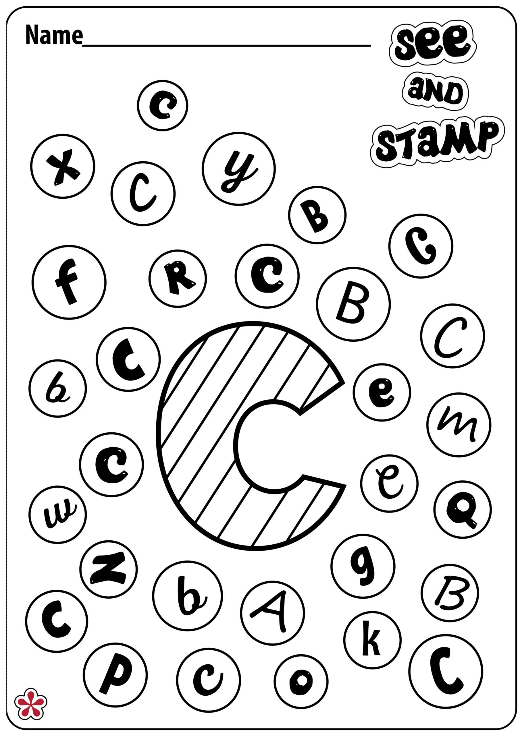Letter C Worksheets | Teachersmag throughout Tracing Letter C Worksheets