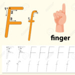 Letter F Tracing Alphabet Worksheets Illustration with regard to Finger Tracing Alphabet Letters
