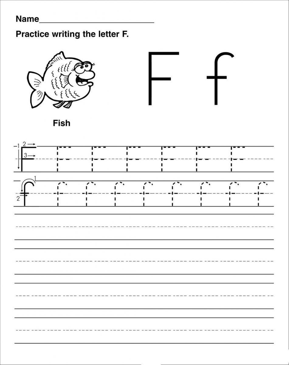 Letter F Worksheet Activities | Handwriting Worksheets intended for Tracing Letter F Worksheets