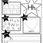 Letter H Coloring Worksheets – Giftedpaper.co regarding Tracing Letter H Worksheets
