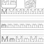 Letter M Worksheet   Preschool Writing, Letter M Worksheets in Tracing Letter M Worksheets Kindergarten