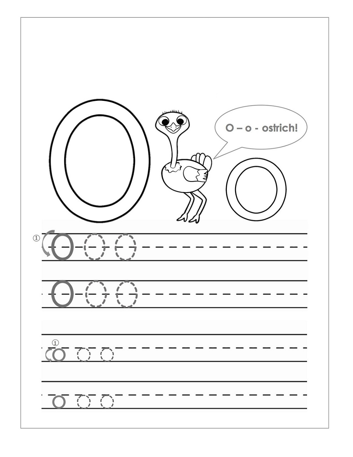 Letter O Worksheets For Preschool – Kids Learning Activity with regard to Trace Letter O Worksheets Preschool