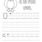 Letter O Worksheets For Preschool | Letter O Worksheets with Trace Letter O Worksheets Preschool