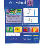 Letter Of The Day Activity Wall | Montesorri Life | Letter throughout Lakeshore Tracing Letters