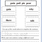 Letter P Worksheet 4 | Letter Q Worksheets, Letter B in Tracing Vowel Letters Worksheet