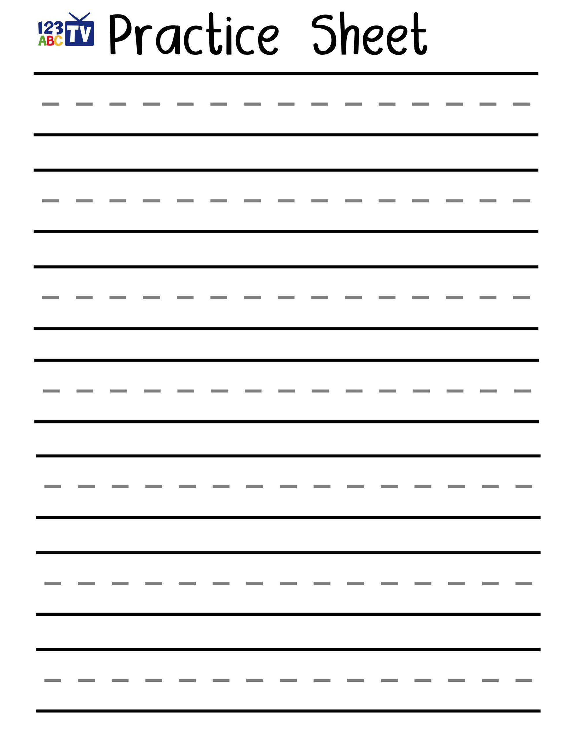 Letter Practice Handwriting Downloads Tv Learning And inside Handwriting Practice Tracing Letters