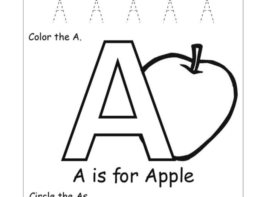 Letter Recognition Worksheets | Alphabet Worksheet Big intended for Large Tracing Letters For Preschoolers