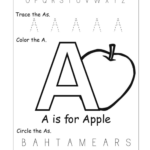 Letter Recognition Worksheets | Alphabet Worksheet Big within Tracing Big Letters Worksheets