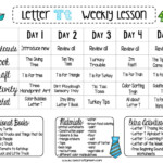 Letter T – Free Preschool Weekly Lesson Plan – Letter Of The in Tracing Letters Lesson Plan