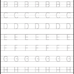 Letter Tracing - 3 Worksheets | Kids Math Worksheets regarding Letter Tracing Writing Worksheet