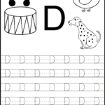 Letter Tracing | Alphabet Worksheets, Letter D Worksheet for Practice Tracing Letters Worksheets