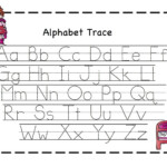 Letter Tracing Template - Wpa.wpart.co regarding Tracing Letter A Worksheets For Kindergarten
