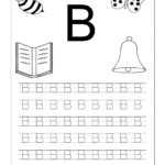Letter Tracing Worksheets For Kindergarten Capital And Small with How To Teach Tracing Letters