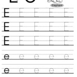 Letter Tracing Worksheets Letters A J | Letter Tracing with Tracing Letters