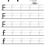 Letter Tracing Worksheets (Letters A - J) throughout Tracing And Copying Letters Worksheets
