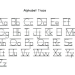 Letter Tracing Worksheets Uppercase And Lowercase Letters with Tracing Worksheets For Kindergarten On Letters