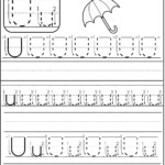 Letter U Worksheet | Preschool Worksheets, Preschool Writing with regard to Tracing Letter U Worksheets