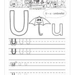Letter U Worksheets. Common Worksheets Letter U Worksheet in Tracing Letter U Worksheets