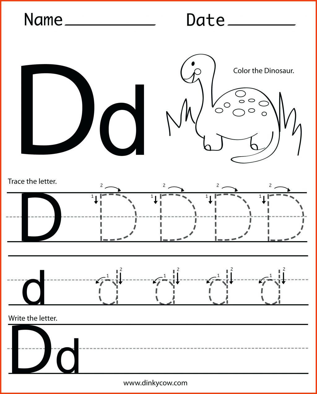 Letter Worksheets Alphabet Hunt Worksheet Kids For Year Olds intended for Tracing Letter Dd Worksheet