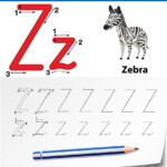 Letter Z Tracing Alphabet Worksheets pertaining to Tracing Letters A To Z Worksheets
