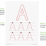 Letters And Numbers: A Handwriting Workbook For Toddlers And in Large Tracing Letters