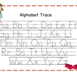Letters Tracing Templates - Wpa.wpart.co within Free Printable Tracing Letters Az