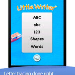 Little Writer - Trace Letters, Numbers, Words, And Shapes within Tracing Letters And Numbers App