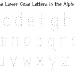 Lowercase Alphabet Tracing - Google Search | Alphabet regarding Tracing Letters Uppercase And Lowercase