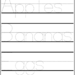 Make Your Own Handwriting Practice | Grocery Shopping With with regard to Printable Tracing Letters Make Your Own