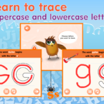 Montessori Abc Games 4 Kids Hd Review | Educational App Store pertaining to Tracing Letters Online Games