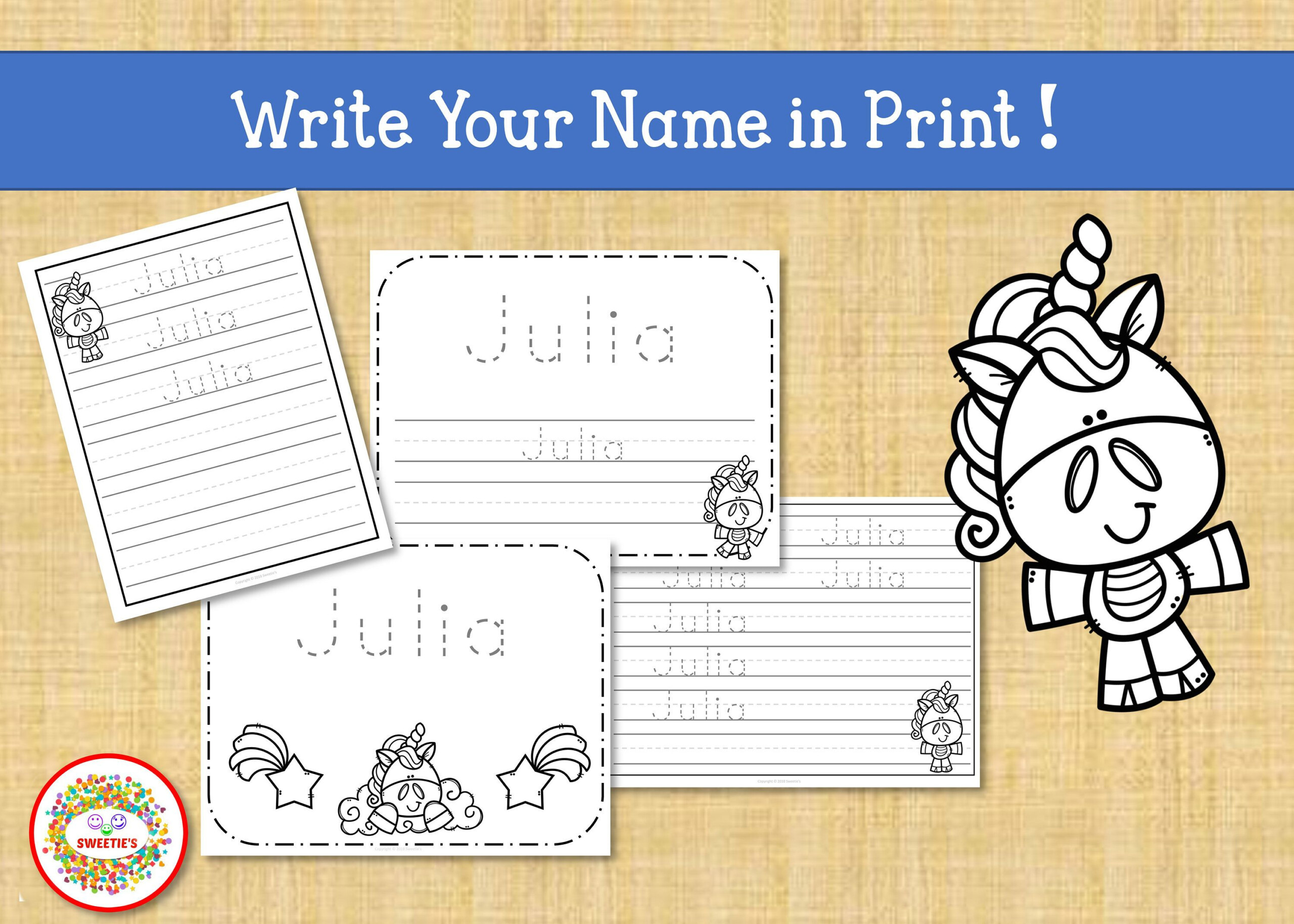 Name Tracing Handwriting Worksheet | Personalized Name intended for Letter Tracing Worksheets Custom
