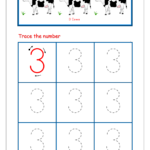 Number Tracing - Tracing Numbers - Number Tracing Worksheets regarding Writing Practice Of Gujarati Letters By Tracing