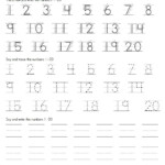 Numbers Writing Practice Worksheets Pdf Inspirationa pertaining to Tracing Numbers And Letters Pdf
