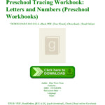 Online Book Preschool Tracing Workbook Letters And Numbers pertaining to Tracing Letters And Numbers Pdf