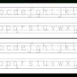 Owercase Etter Tracing | Letter Tracing Worksheets, Alphabet throughout Dotted Letters For Tracing Font