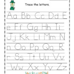 Pin On Jude pertaining to Letters For Tracing Kindergarten