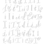 Pin On Typography pertaining to Calligraphy Letters Tracing