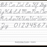 Pindavid Stringer On Writing | Cursive Handwriting regarding Tracing Cursive Alphabet Letters